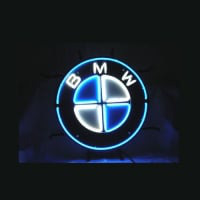 Bmw German Auto Car Store Dealer Neon Skilt